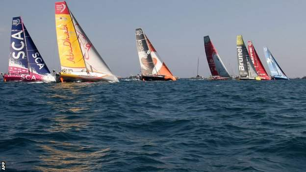 Abu Dhabi Ocean Race moved into the Volvo Ocean Race lead on Saturday