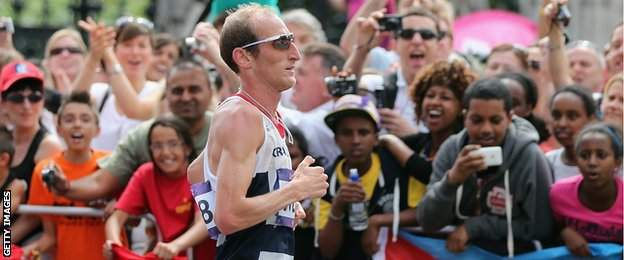 Marathon runner Scott Overall