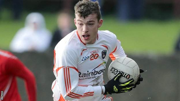Ethan Rafferty scored 1-4 for Armagh in the win over Wexford