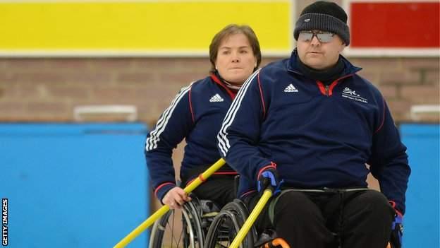 Scotland skip Aileen Neilson and Gregor Ewan