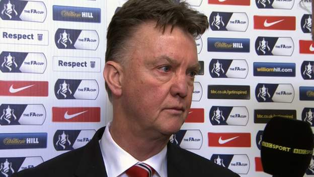FA Cup: Manchester United Manager Louis Van Gaal Interview