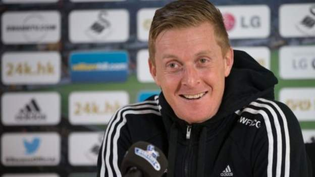 Swansea Boss Garry Monk Backs Louis Van Gaal In Long-ball