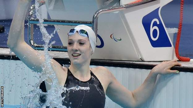 Swimmer Bethany Firth