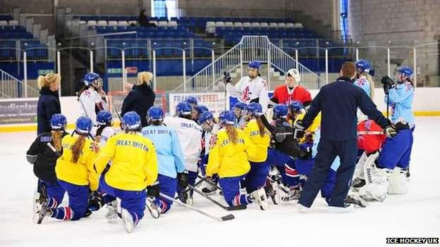 Women's team training