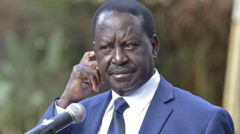 Kiongozi wa upinzani nchini Kenya Raila Amollo Odinga