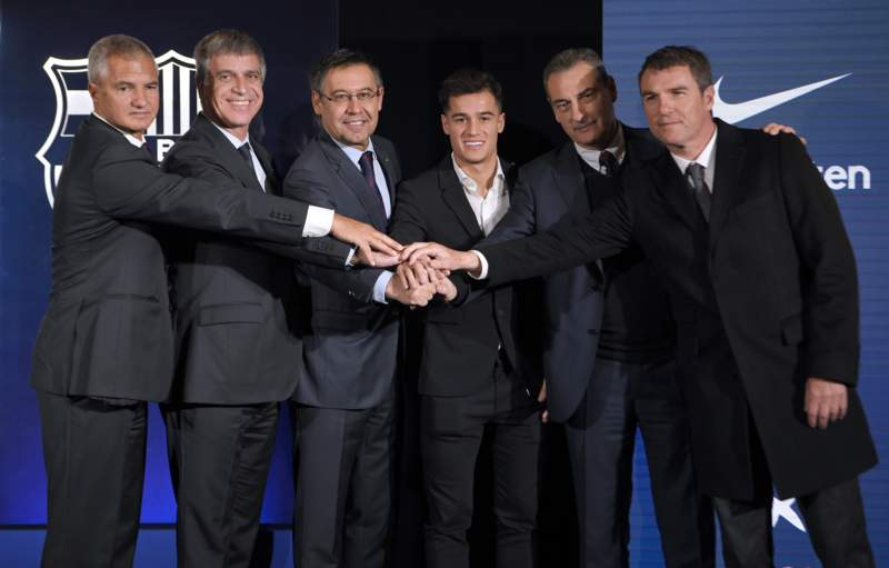 Coutinho and the Barcelona board