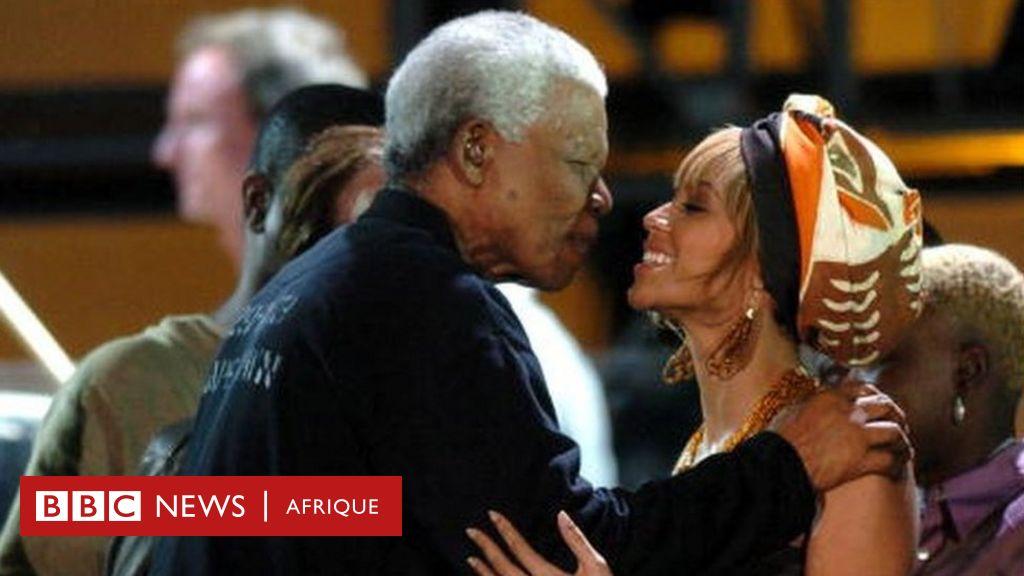 Beyoncé rend hommage à Mandela