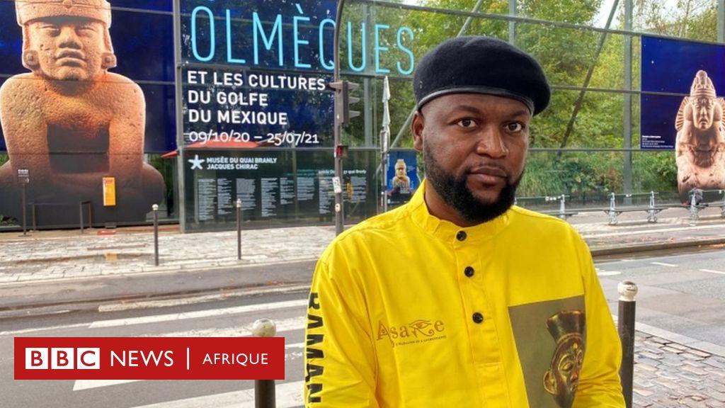 La France inflige une amende à l'activiste congolais Diyabanza - BBC News Afrique
