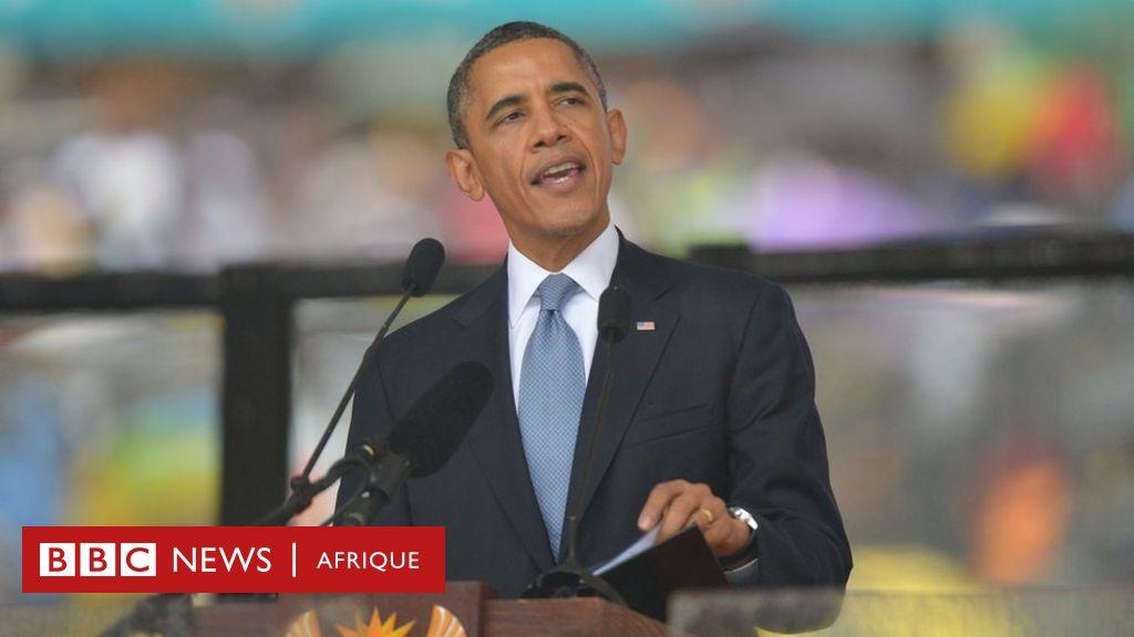 Obama à la fondation Mandela