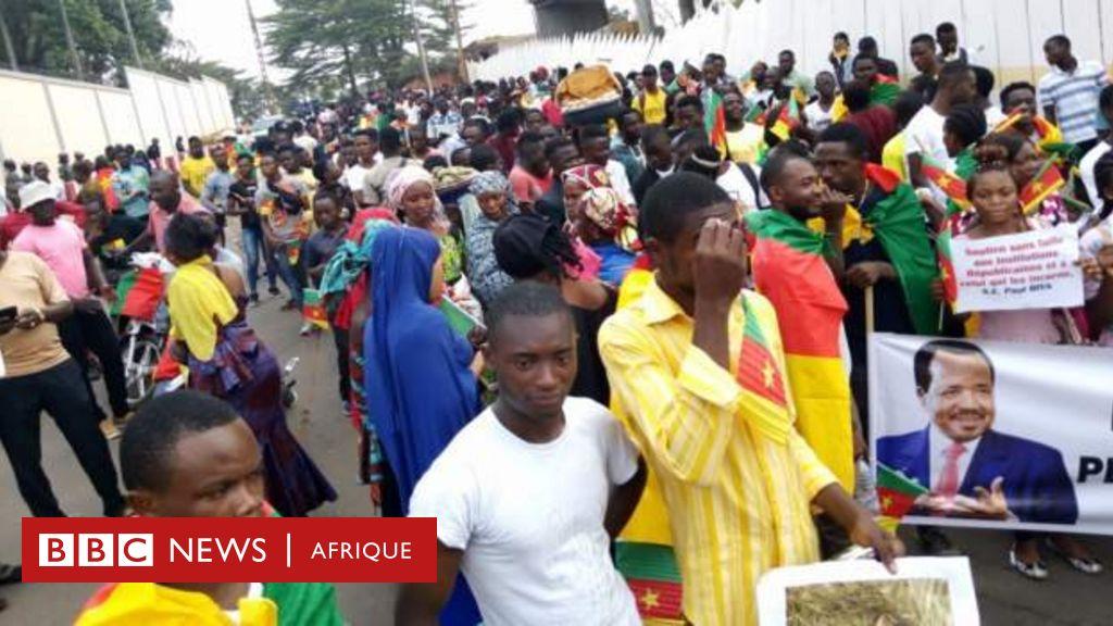Propos contre Paul Biya: des Camerounais protestent contre Emmanuel Macron