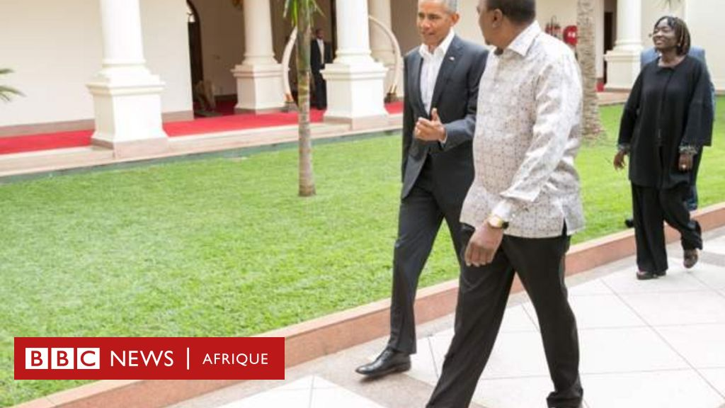 Obama visite dans son village au Kenya