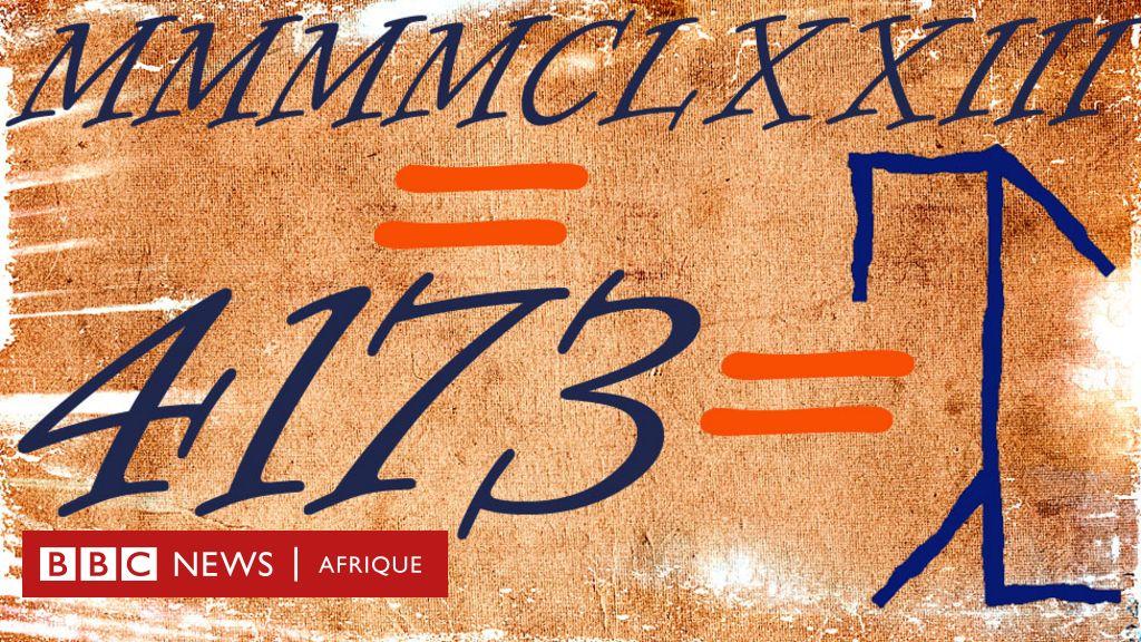 L'astucieux système de numérotation utilisé en Europe pendant des siècles... qui a ensuite été entièrement oublié - BBC News Afrique