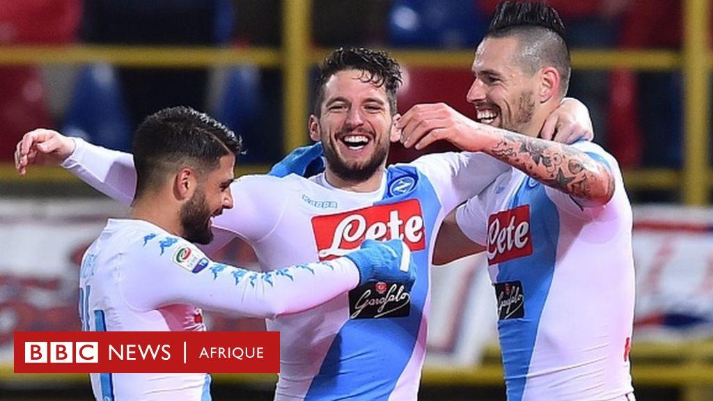 Football : Naples bat 17 à 0 une équipe de 6e division ...