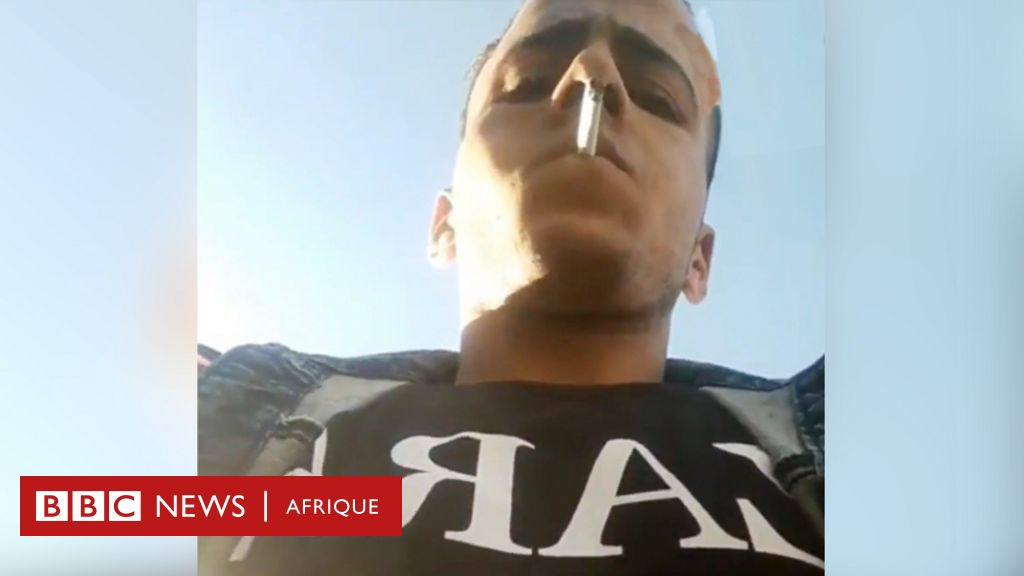 Un Égyptien arrêté après avoir diffusé en direct son visage lors d'un vol - BBC News Afrique