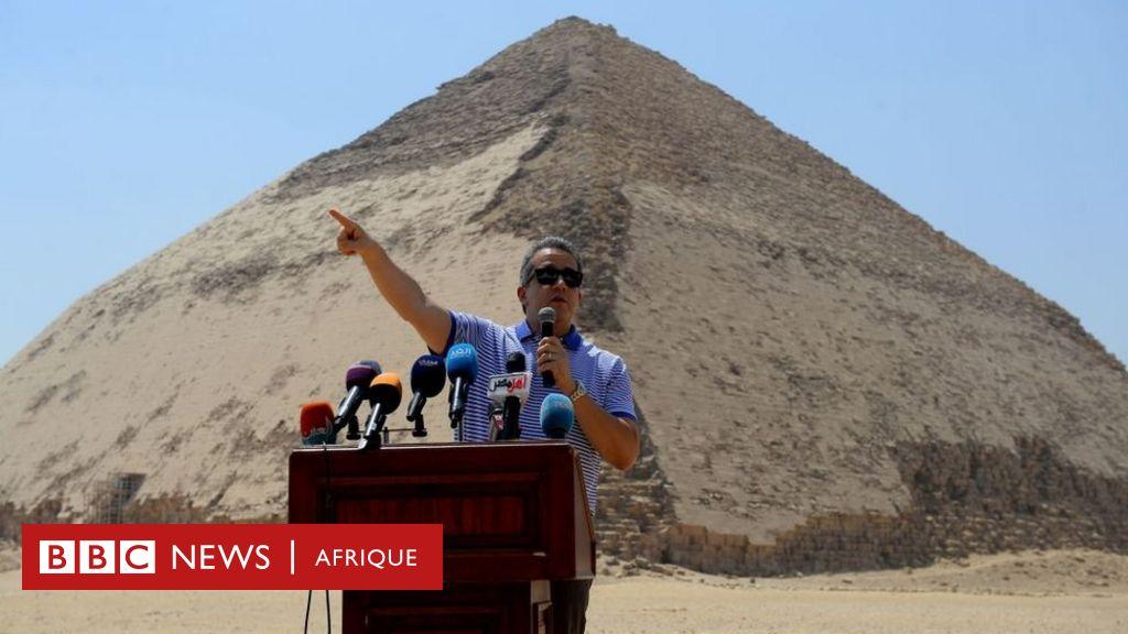 En Egypte, deux nouvelles pyramides ouvertes au public