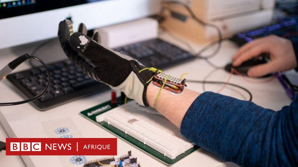 Un gant robotique utilise l'IA pour améliorer la préhension - BBC News Afrique