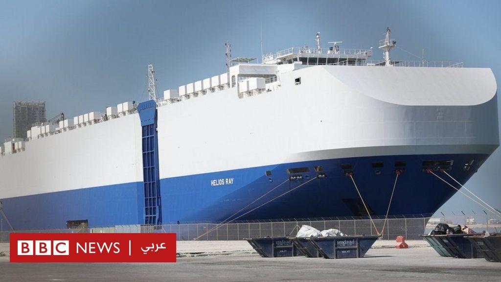 نتنياهو يتهم إيران بالمسؤولية عن انفجار بسفينة إسرائيلية في خليج عمان