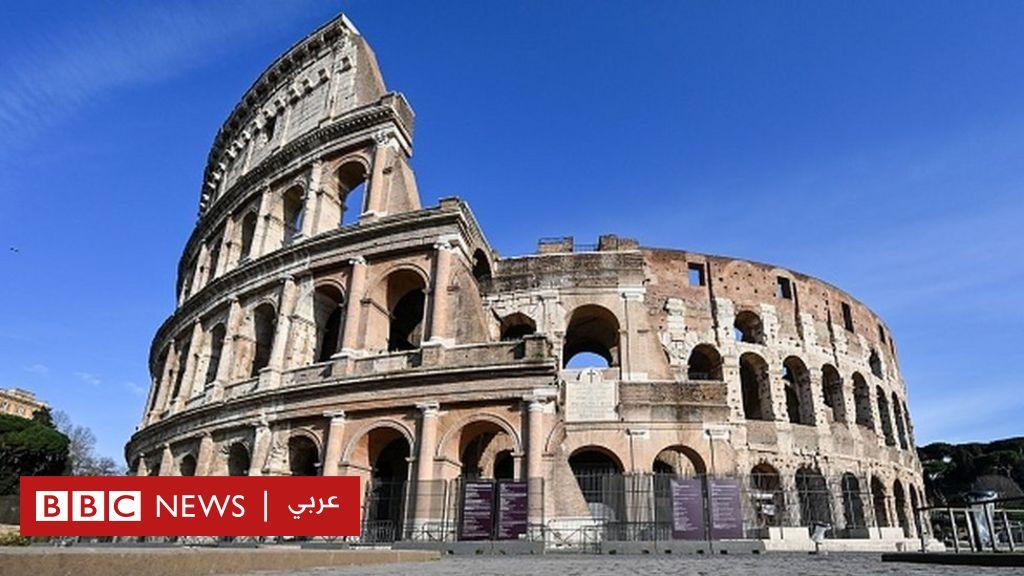 """إيطاليا تعيد بناء """"ساحة قتال"""" المسرح الروماني المدرج - BBC News عربي"""