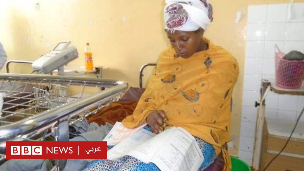 اثيوبية أدت امتحانا بعد الولادة بنصف ساعة