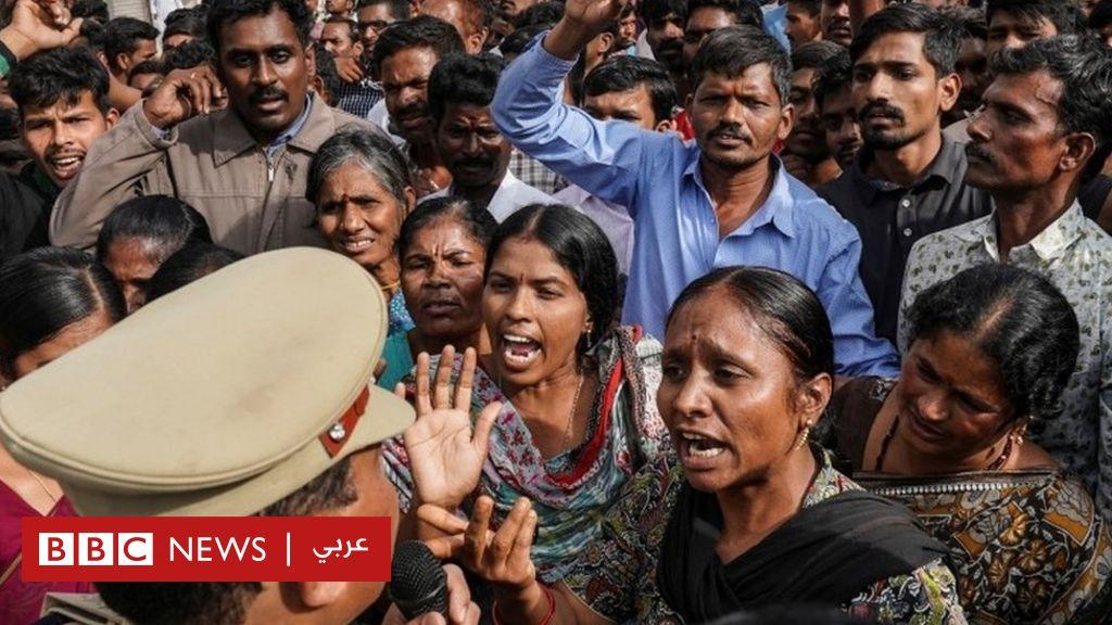 قضية اغتصاب وقتل فتاة بالهند: الشرطة تقتل بالرصاص أربعة متهمين