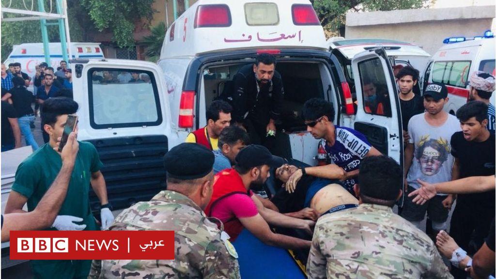 مظاهرات العراق: الداخلية تنفي استهداف المتظاهرين والحكومة  تستجيب لمطالب المحتجين بحزمة إصلاحات  - BBC News Arabic