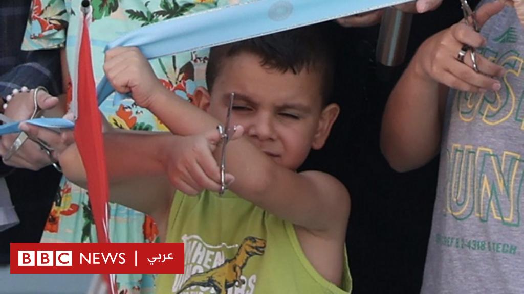 صبي يسرق الأضواء في حفل افتتاح يحضره أردوغان في تركيا