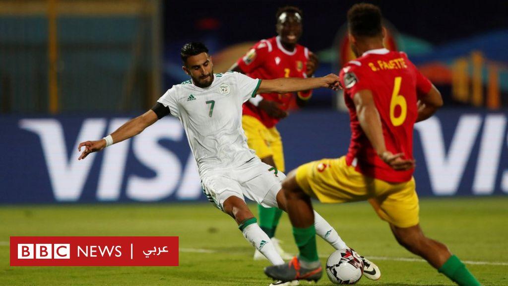 كأس أمم أفريقيا: الجزائر تتأهل لدوري الثمانية بعد فوزها على غينيا 3