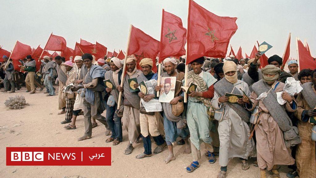 المسيرة الخضراء: دعوة الحسن الثاني التي انتهت بإعلان  الجمهورية الصحراوية  - BBC News Arabic