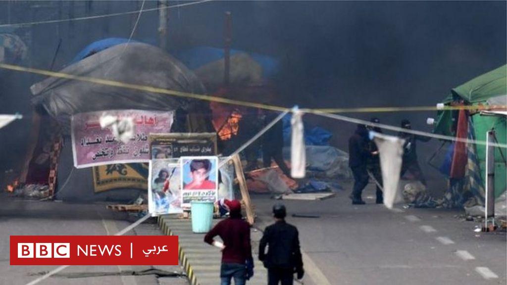 مظاهرات العراق: قوات الأمن العراقية تهاجم موقعا للاحتجاجات في بغداد - BBC News Arabic