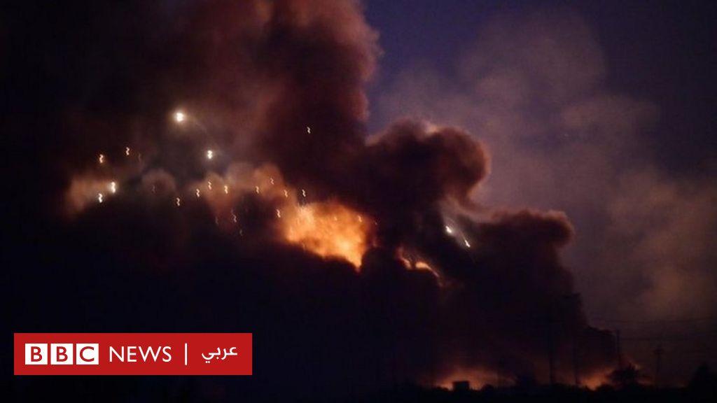 العراق: الحشد الشعبي يتهم  جهات أجنبية  باستهداف قواعده - BBC News Arabic