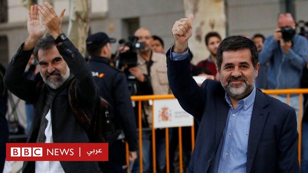 زعيمان من كتالونيا في السجون الإسبانية لوقت قد يمتد مجلة المنارة