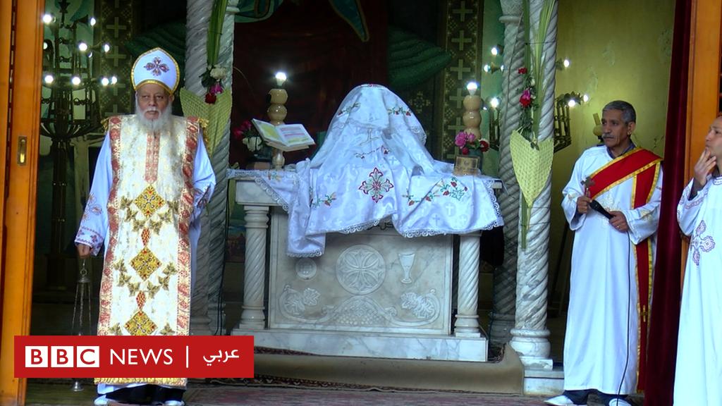 بالصور: احتفالات المصريين بأحد الشعانين