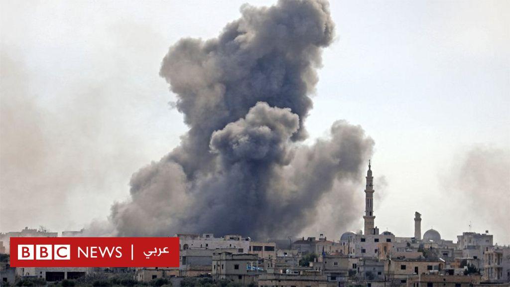 الحرب في سوريا: معركة إدلب ما بين دعم الناتو لتركيا وتدخل أمريكا لـ  سرقة  النفط السوري - BBC News Arabic