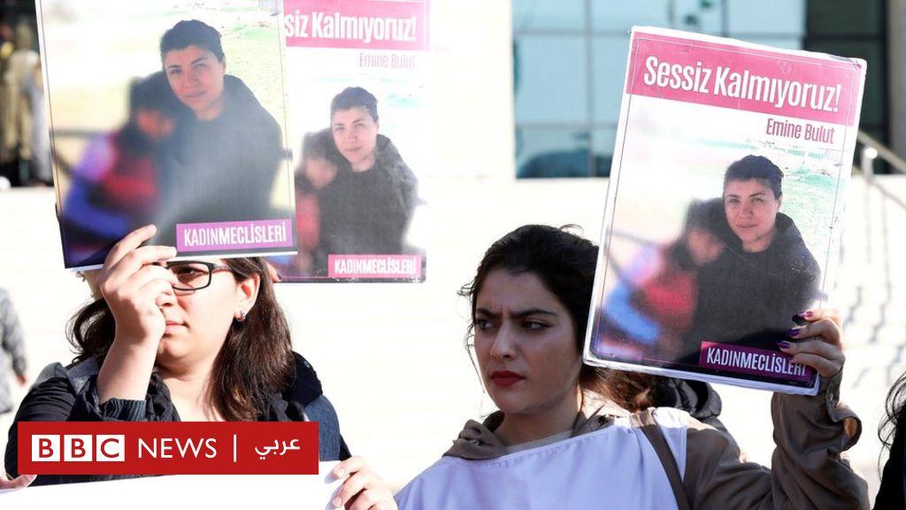 بدء محاكمة تركي قتل مطلقته طعناً في مقهى أمام طفلتهما