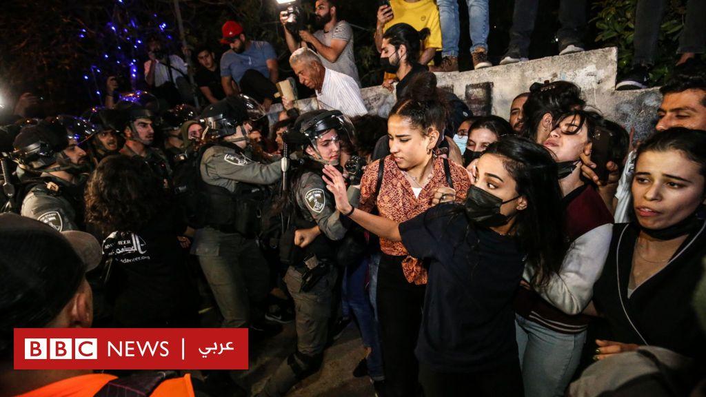 الشرطة الإسرائيلية تعتقل 11 فلسطينيا عقب اشتباكات في القدس - BBC News عربي