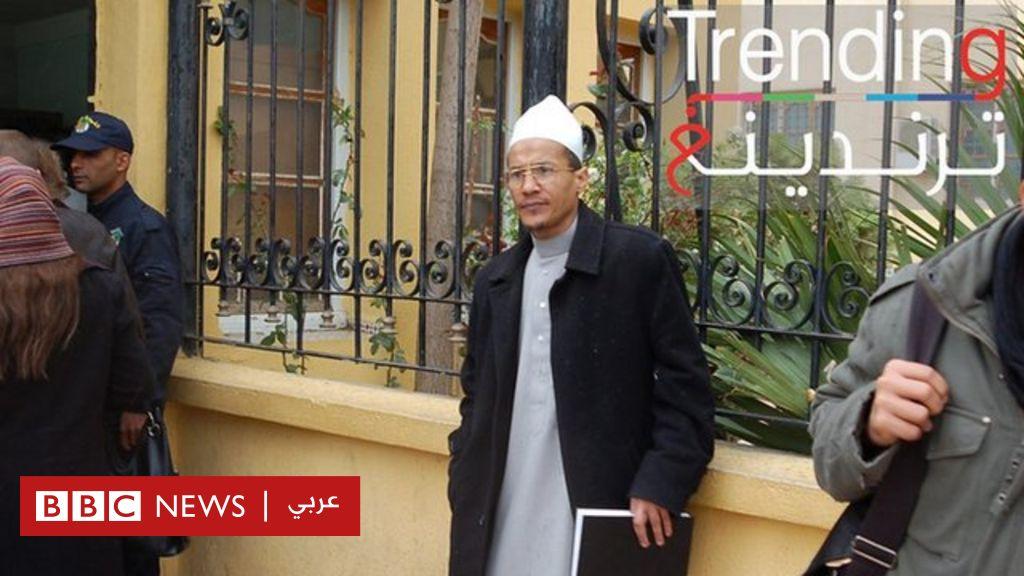 لقاء الإسلامي علي بلحاج بناشطي الحراك يثير الانتقادات في الجزائر - BBC News Arabic