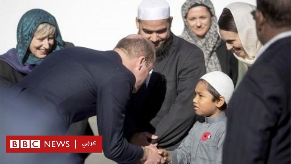 هجوم نيوزيليندا: الأمير وليام يزور مسجد النور في كرايست تشيرتش ويتفقد الناجين من الهجوم