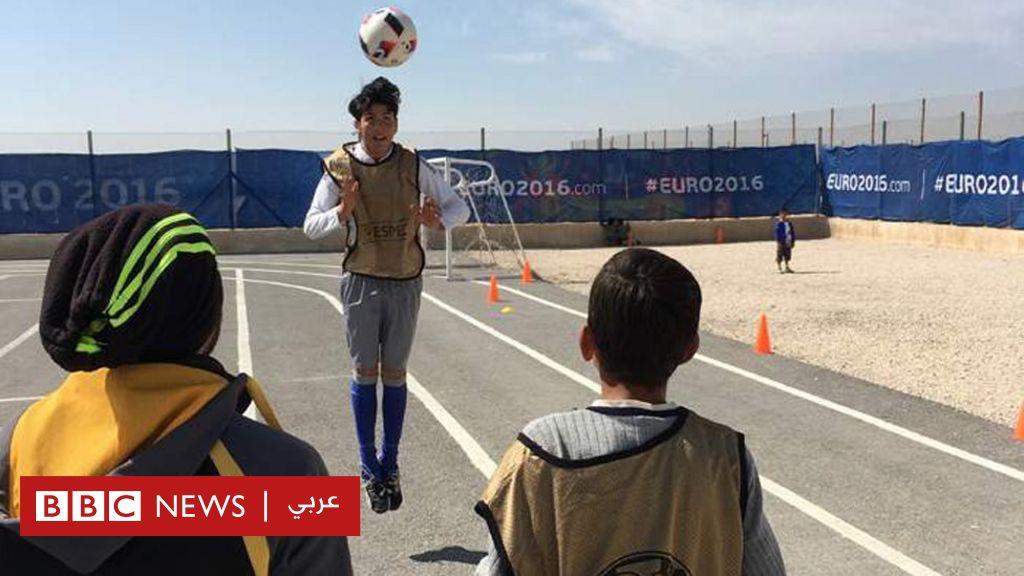 سوريا: كرة القدم على خط النار - BBC News عربي