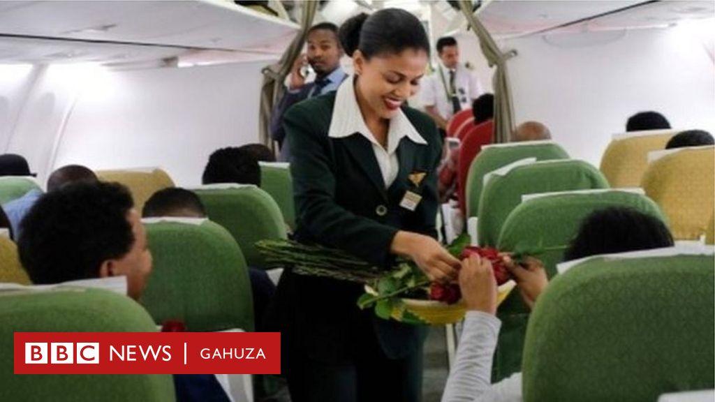 Indege ya kompanyi Ethiopian Airlines yakoze urugendo rw