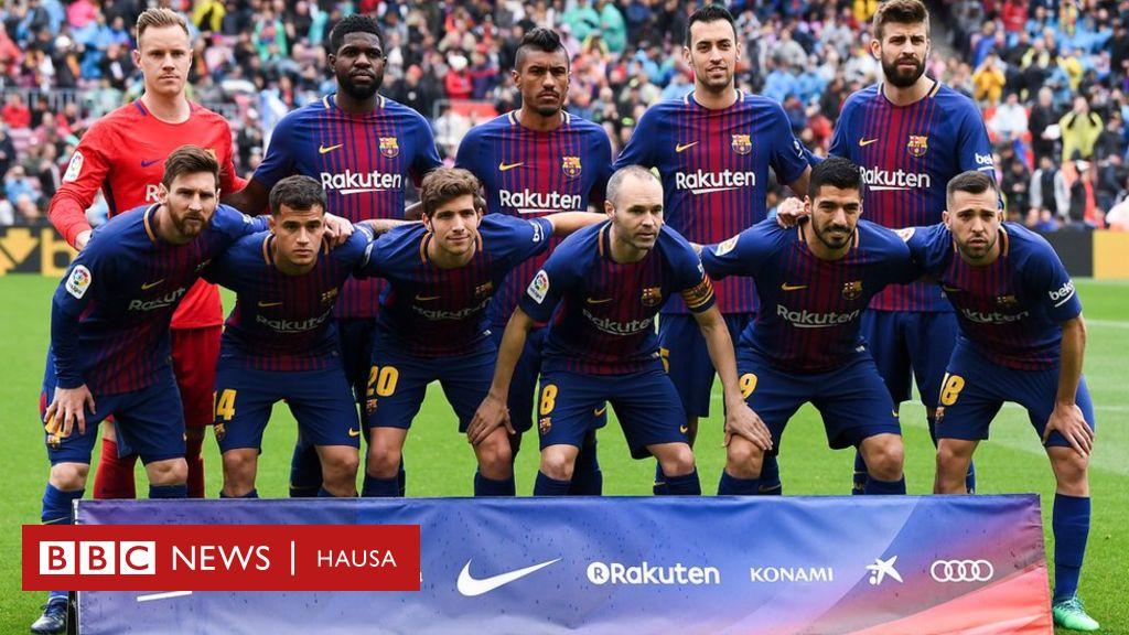 Barcelona Ta Buga Wasanni 39 Ba A Doke Ta Ba A La Liga Bbc News Hausa