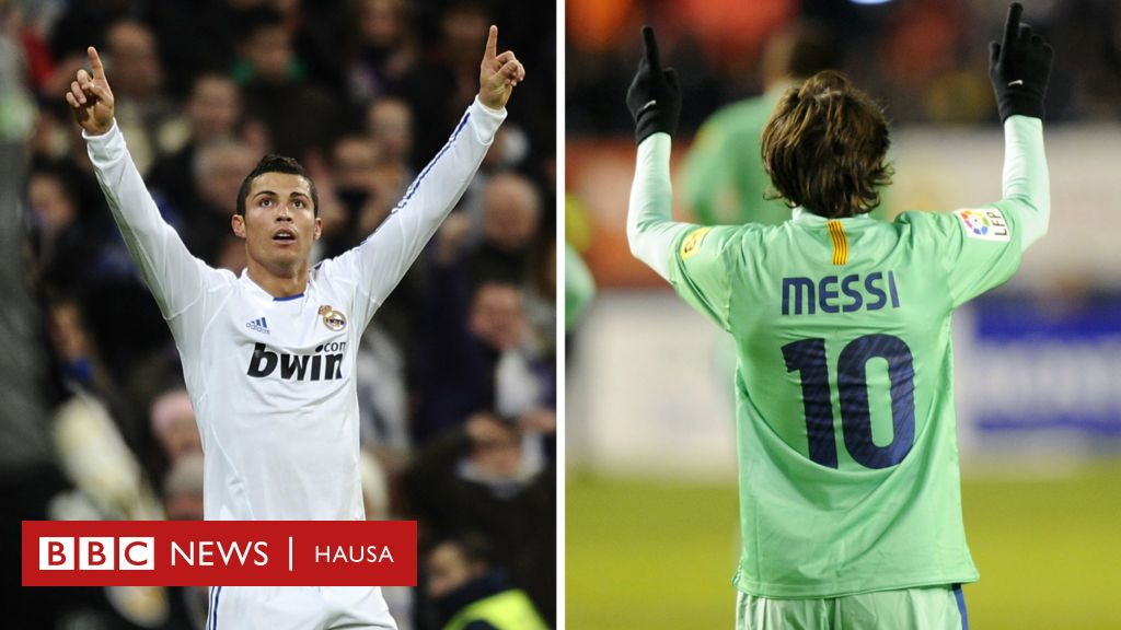 Yaushe Messi zai kamo Ronaldo a cin kwallo? - BBC News Hausa