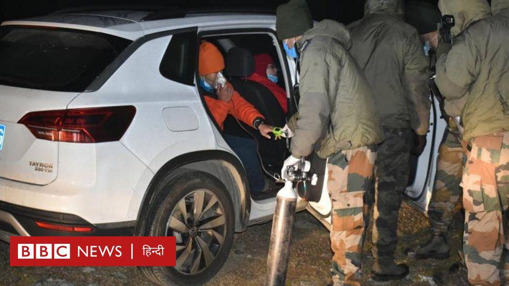 भारत-चीन सीमा पर फंसे चीनी नागरिकों की भारतीय सेना ने की मदद - आज की बड़ी ख़बरें - BBC हिंदी
