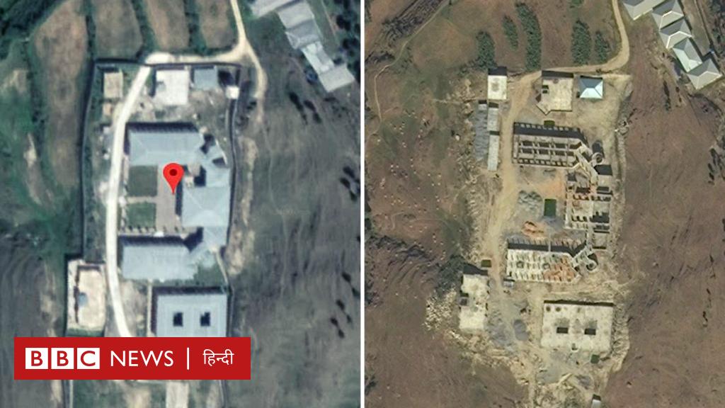 केंद्रीय मंत्री ने जिन तस्वीरों को दिखाकर दावा किया कि चरमपंथी संगठन जैश-ए-मोहम्मद कैंप के परखच्चे उड़ गए, पढ़ें, उन तस्वीरों का सच.