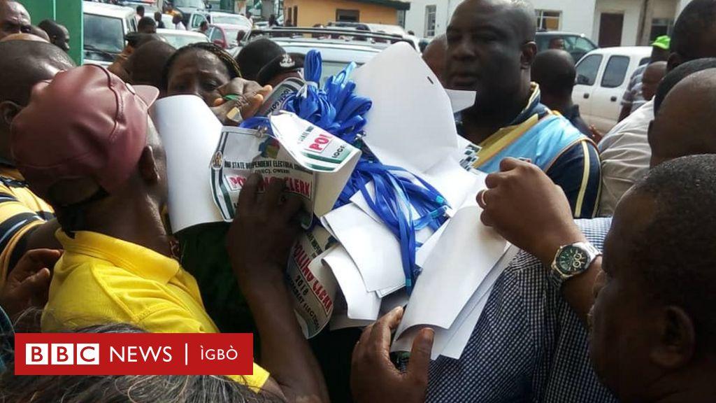 Ntuliaka okpuru ọchịchị nke Imo steeti: Ka o si aga - BBC