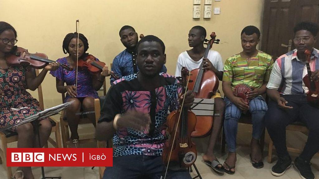 Ngwa egwu bekee na-etipụta egwu Igbo