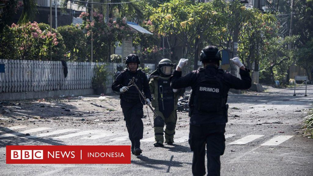 Serangan bom di tiga gereja Surabaya: Pelaku bom bunuh ...