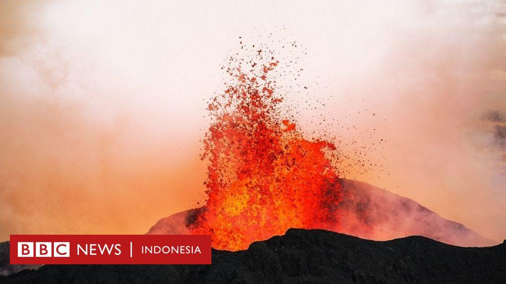 Kekuatan Menakjubkan Dari Gunung Berapi Bbc News Indonesia