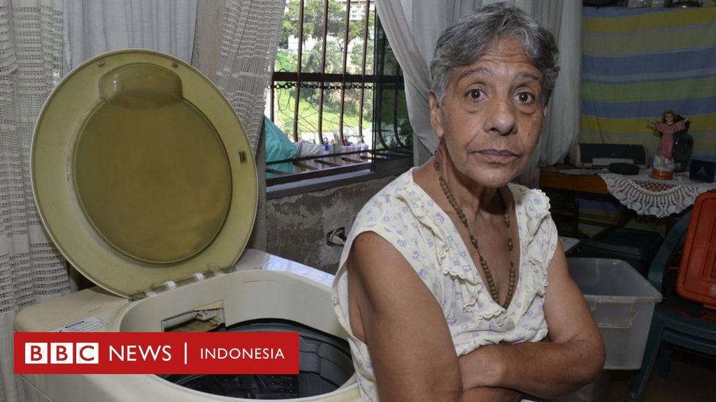 Cerita warga Venezuela yang hidup dengan uang Rp18.000 per bulan - BBC News Indonesia