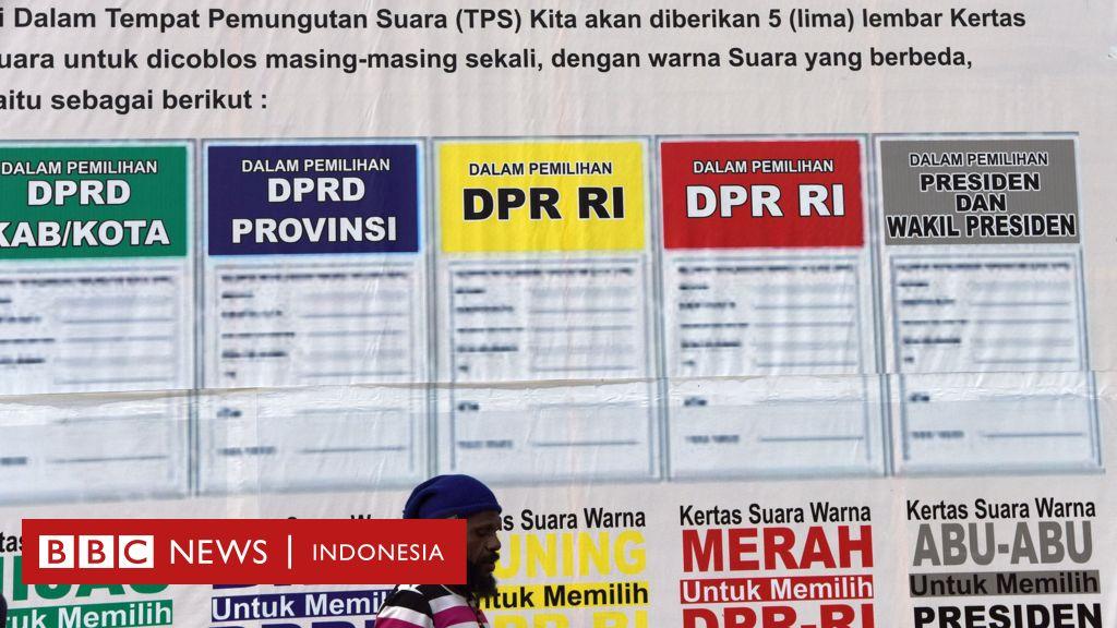 Pemilu 2019: Inilah relawan independen penjaga suara Anda - BBC News Indonesia