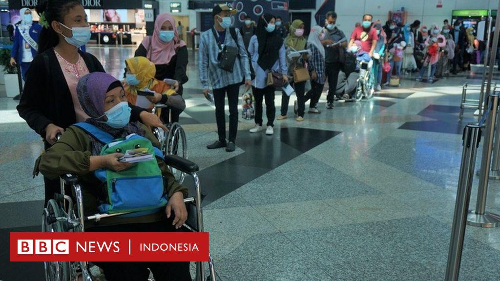 Puluhan ribu TKI pulang dari Malaysia, Surabaya jadi tujuan primadona  'karena sempat tak berlakukan karantina' - BBC News Indonesia